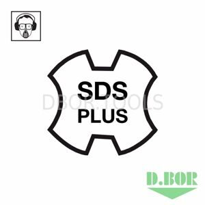 D.BOR SDS-plus #1 logo